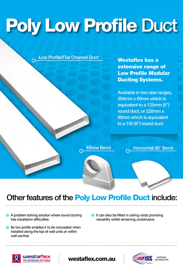 poly low profile duct brochure