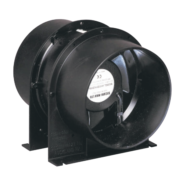 Axial Fan Systems : Axial wall mounted fans westaflex