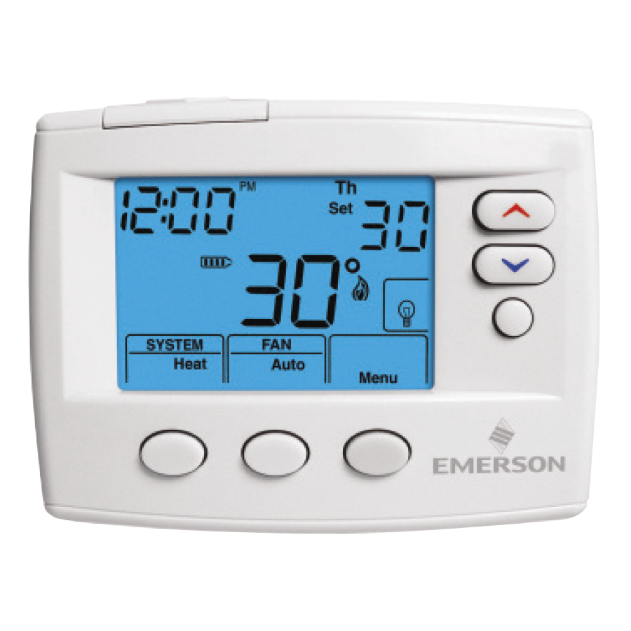 emerson big blue thermostat manual