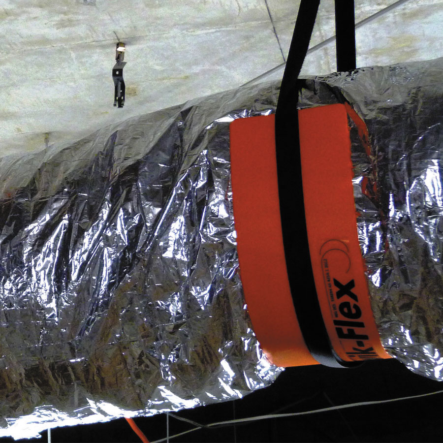 Air Duct Supports : Kwik flex westaflex